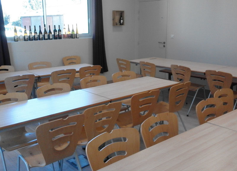 Salle terroir - aménagement groupes
